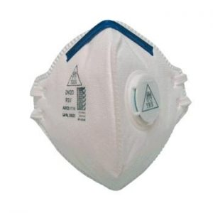 REDM20 P2V dust masks with exhalation valve