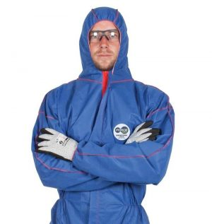 Force 360 disposable overalls, blue
